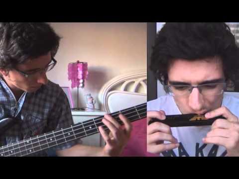 Harmonica harmonica tabs mario : Super Mario theme (Harmonica Cover + Bass) - YouTube