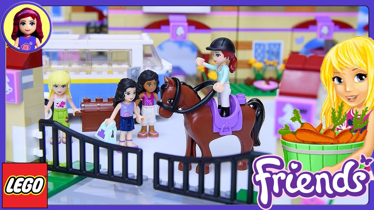 Lego Friends Summer Riding Camp Build Review Silly Play Part 1