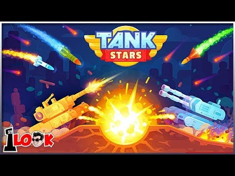 Tank Stars - Bowmasters with Epic Tanks (1st Look iOS / Android Gameplay)