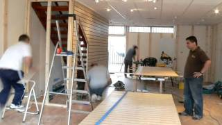 Time Lapse Of Shop Fitting Over Two Days