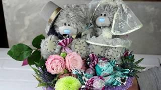 МАСТЕР-КЛАСС БУКЕТ ИЗ КОНФЕТ/Букет из игрушек