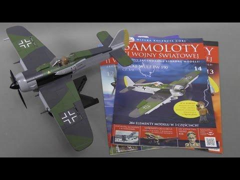 Recenzja COBI - Focke Wulf FW 190 - Kolekcja Samoloty II Wojny Światowej 12 13 14