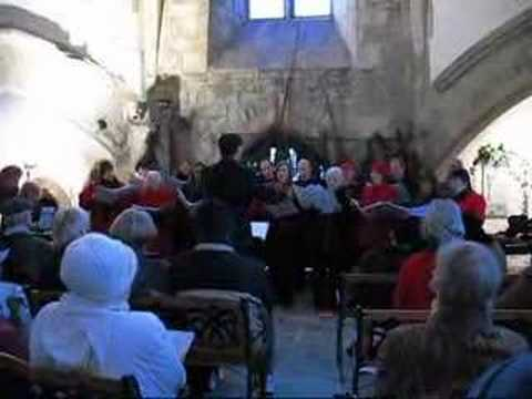 The Churchill singers sing Christmas Carols.