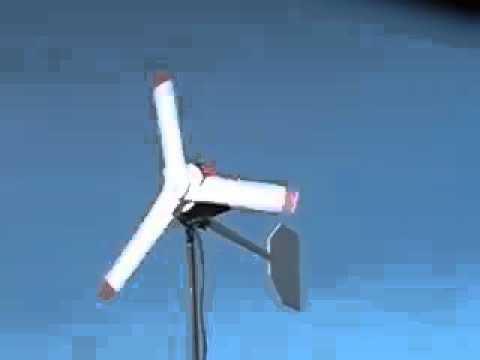 Home Made Wind Generator still running