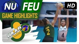 UAAP 80 WV: NU vs. FEU | Game Highlights | February 28, 2018