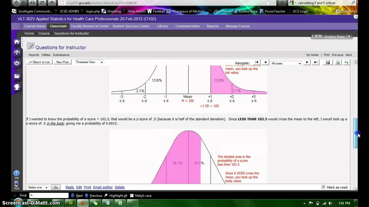 Hlt 362v excel sampling distribution