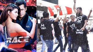Salman Khan's Crazy Fans Dance And Celebrate Race 3 Release At Chandan Theater