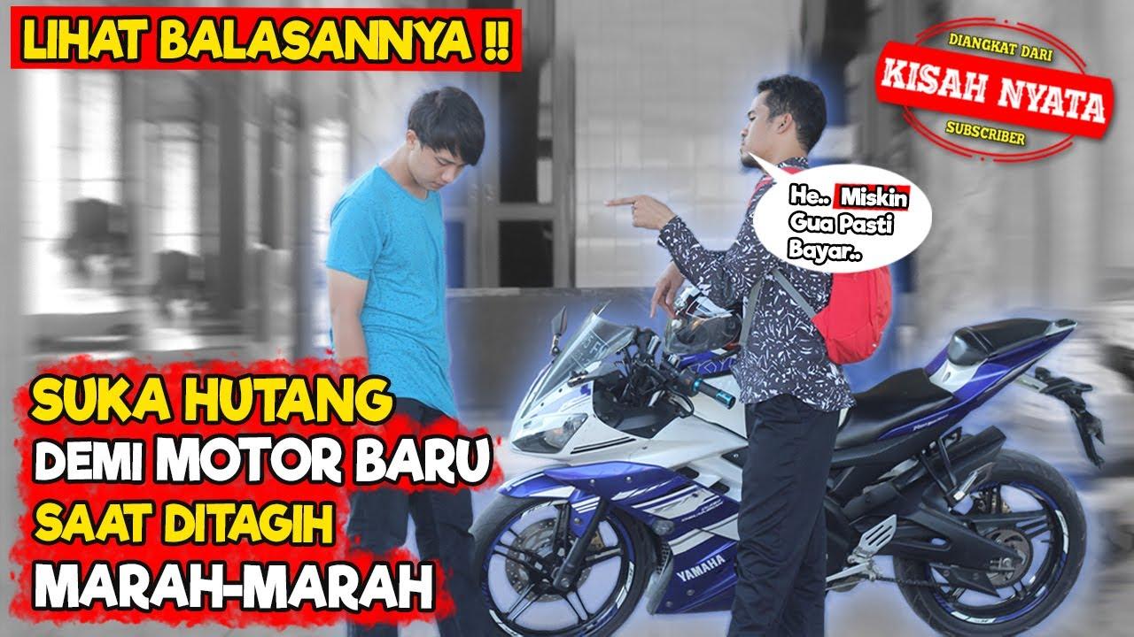 TEMAN TIDAK MAU BAYAR HUTANG DITAGIH MARAH MARAH MALAH PAMER MOTOR BARU, AKHIRNYA INI YANG TERJADI !