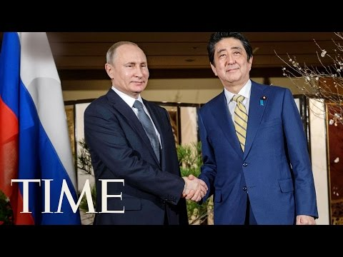 Vladimir Putin And Shinzo Abe Hold Talks On Japan-Russia Territorial Dispute | TIME