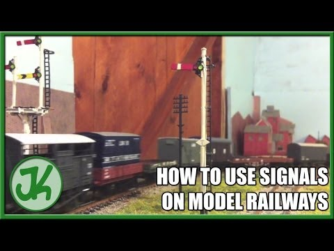 How To Use Signals on Model Railways