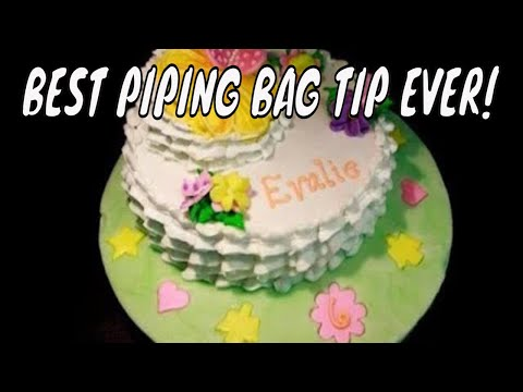 How To Fill Cake Decorating Bags : Cake decorating techniques to fill a piping bag or cake ...