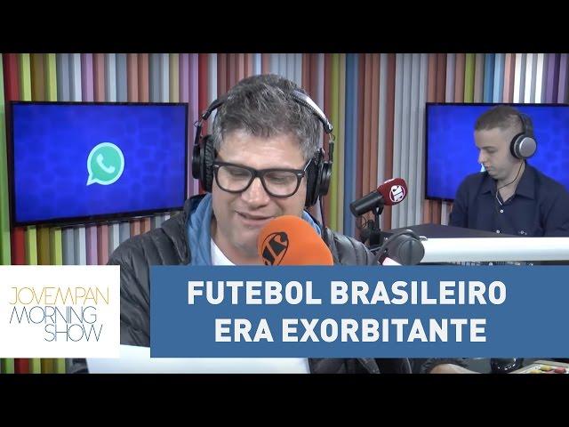 "Joseval Peixoto exalta Carlos Alberto Torres: ""futebol brasileiro era exorbitante"" l Morning Show"