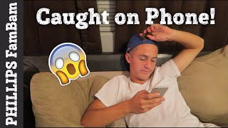 CAUGHT ON THE PHONE | FEELING HORRIBLE & SAD | PHILLIPS FamBam Vlogs