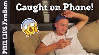CAUGHT ON THE PHONE | FEELING HORRIBLE & SAD | PHILLIPS FamBam Vlogs