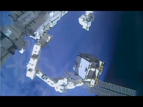 ISS Robots Replace Critical Power Switching Box Outside Space Station