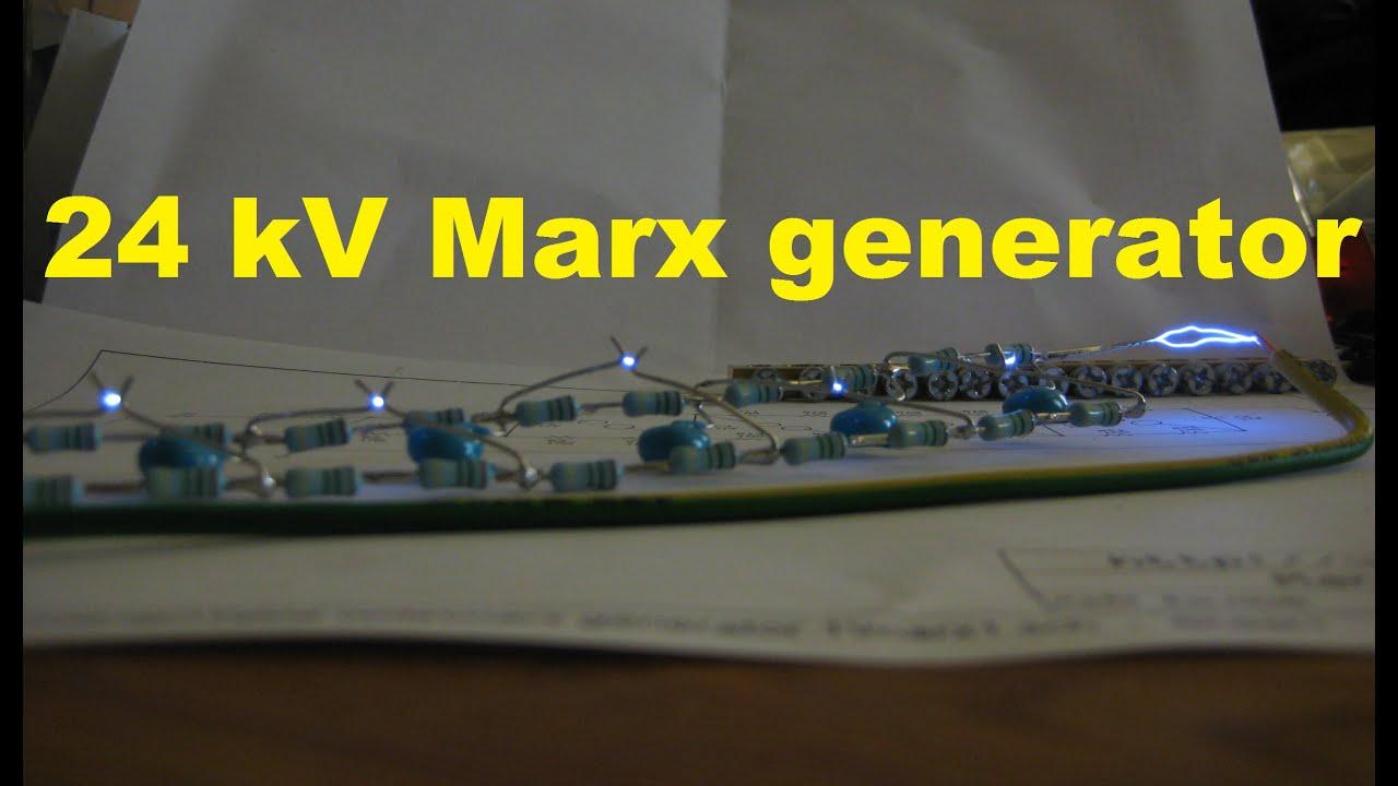 24 kV Marx generator | Kaizer Power Electronics