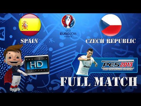 [Full Match] UEFA EURO 2016 |  Spain vs Czech Republic