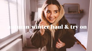 Autumn/Winter Clothing Haul & Try On