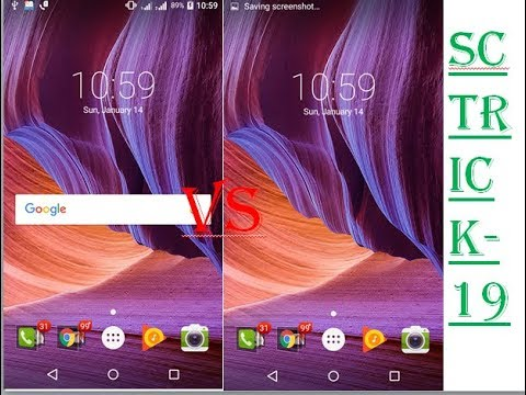 how to put google bar on home screen