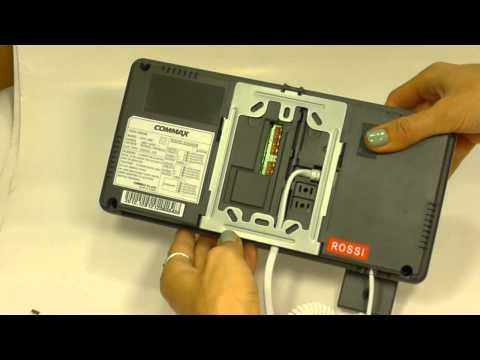 BUT-2 (Белый черный) 4,3 цветной видеодомофон (без трубки