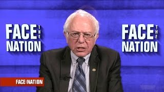 "Bernie Sanders says ""women are not going backwards"""