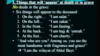 Barzakh - Lesson 4: Do Souls Visit Family?; Questioning in the Grave - Maulana Syed Rizvi