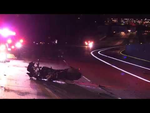 MIRACLE SURVIVOR-WRONG WAY DUI HITS MOTORCYCLE HEAD ON