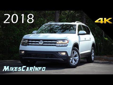 2018 Volkswagen Atlas SEL - Ultimate In-Depth Look in 4K VW Teramont