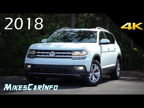 2018 Volkswagen Atlas SEL - Ultimate In-Depth Look in 4K VW Teramont