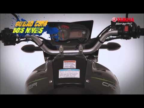 2014 Nova Yamaha XTZ150S Crosser BlueFlex