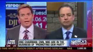 RNC Chair Reince Priebus Threatens To Boycott CNN & NBC from Hosting GOP Debates