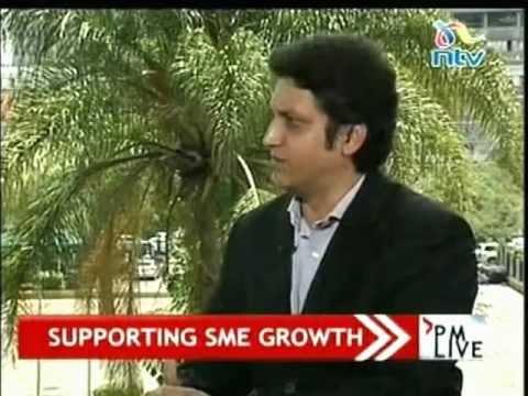 Sriram Bharatam Founder of Kuza Biashara on SME Growth in Kenya on NTV PMLive