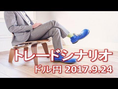【FX:ドル円 2017.9.24】トレードシナリオ解説