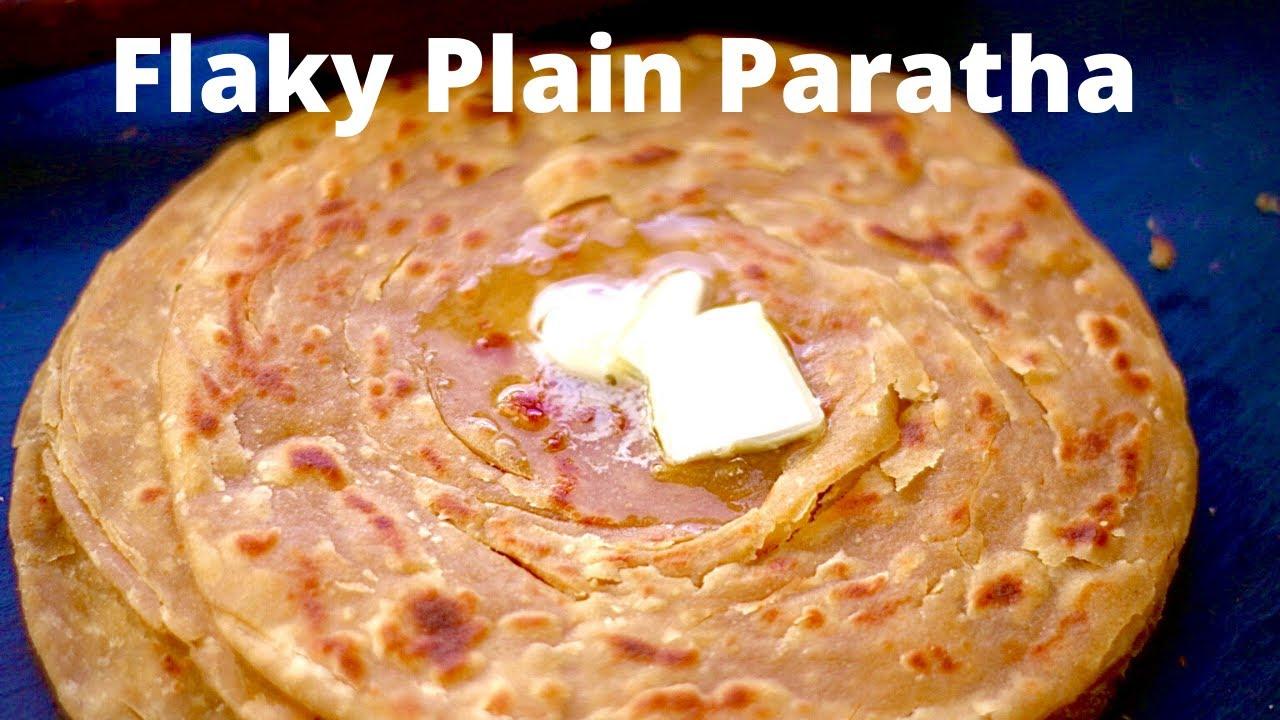 Download Basic Paratha Recipe | How to Make Flaky Lachha Whole Wheat Paratha