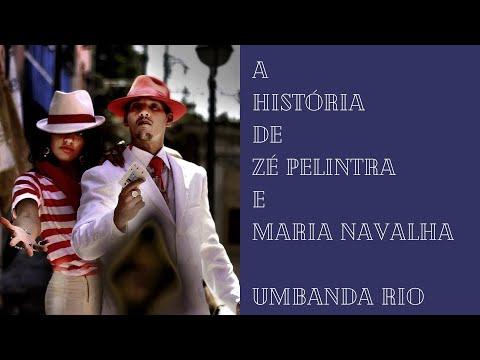 Historia de Zé Pelintra e Maria Navalha Umbanda Rio 2016 ( Teatralização)