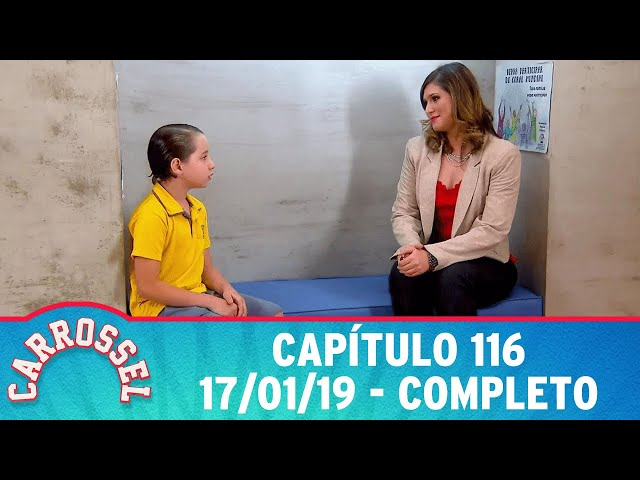 Carrossel | Capítulo 116 - 17/01/19 - completo