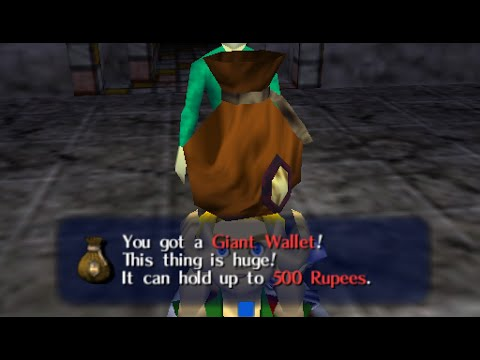Legend of zelda ocarina of time: how to get a bigger wallet - (zelda ocarina of time bigger wallet)