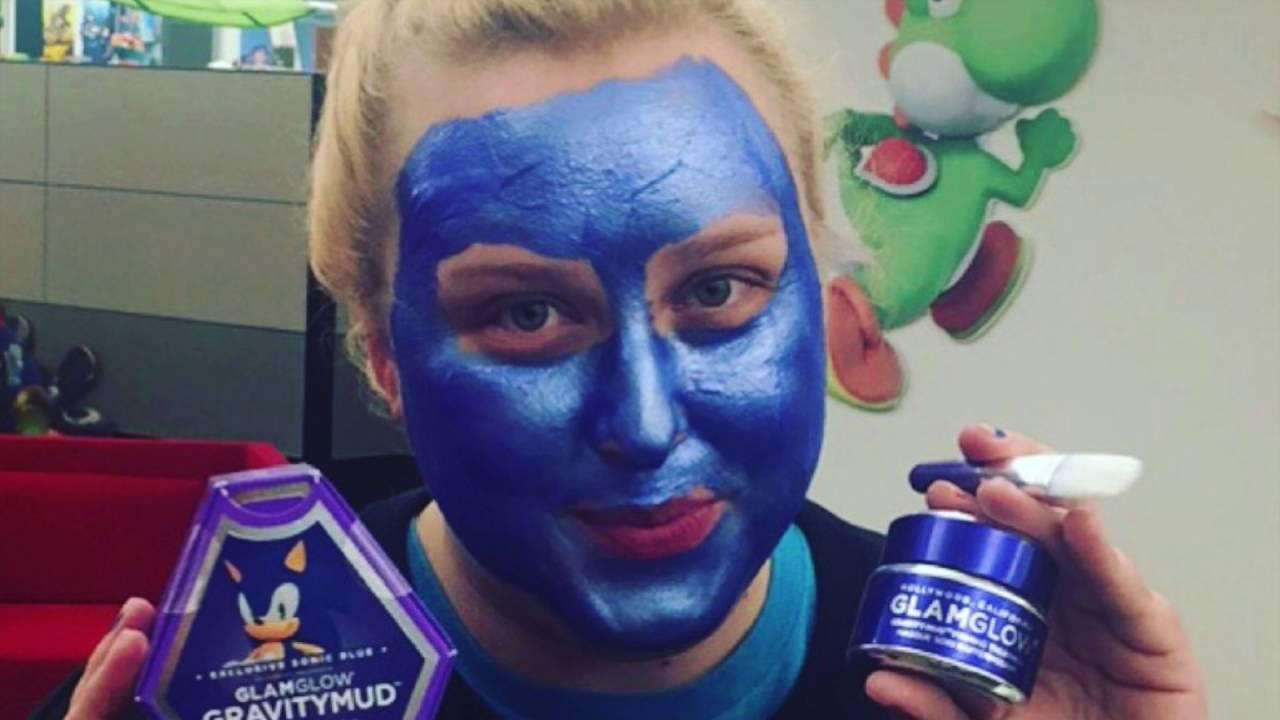 Gotta Go Mask Limited Edition Sonic The Hedgehog Glamglow Gravitymud Mask Youtube