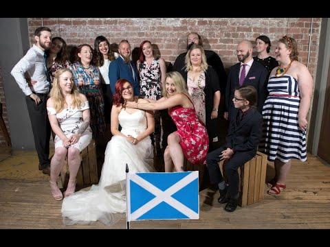 A CRAZY GLASGOW WEDDING | SCOTLAND