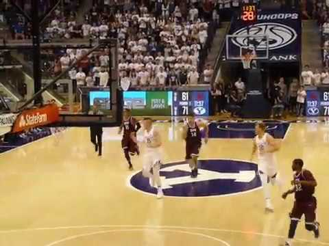 BYU dunk in Seattle Pacific exhibition game