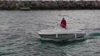 Moteur électrique Aquamot sur bateau Cap Camarat