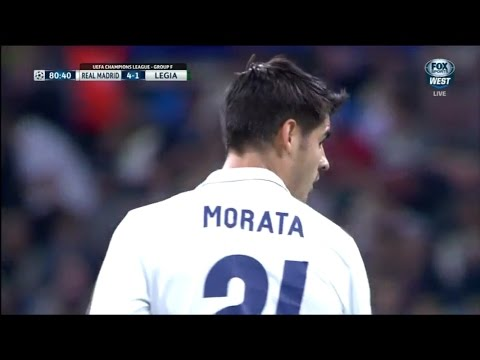 Alvaro Morata vs Legia Warsaw (Home) 16-17 HD (18/10/2016)