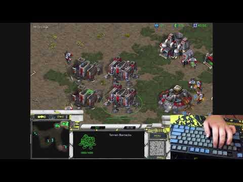 [17.4.19] (FPVOD) StarCraft Remastered | 1v1 Connor5620 [T] Vs HoneyBear [Z] Fighting Spirit