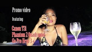 Video using Canon T3i, Phantom 2 Quadcopter and Gopro Hero 3+