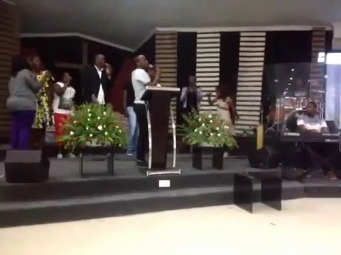 Never Settle for Less - Rehersal with Khaya Mthetwa