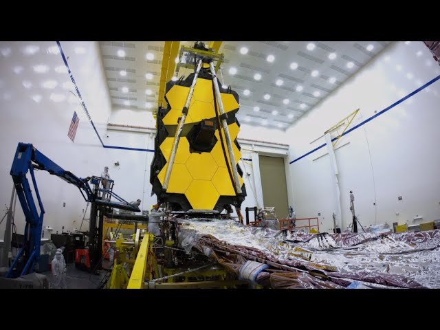Time-Lapse of NASA's James Webb Space Telescope Assembly, Sunshield Deployment