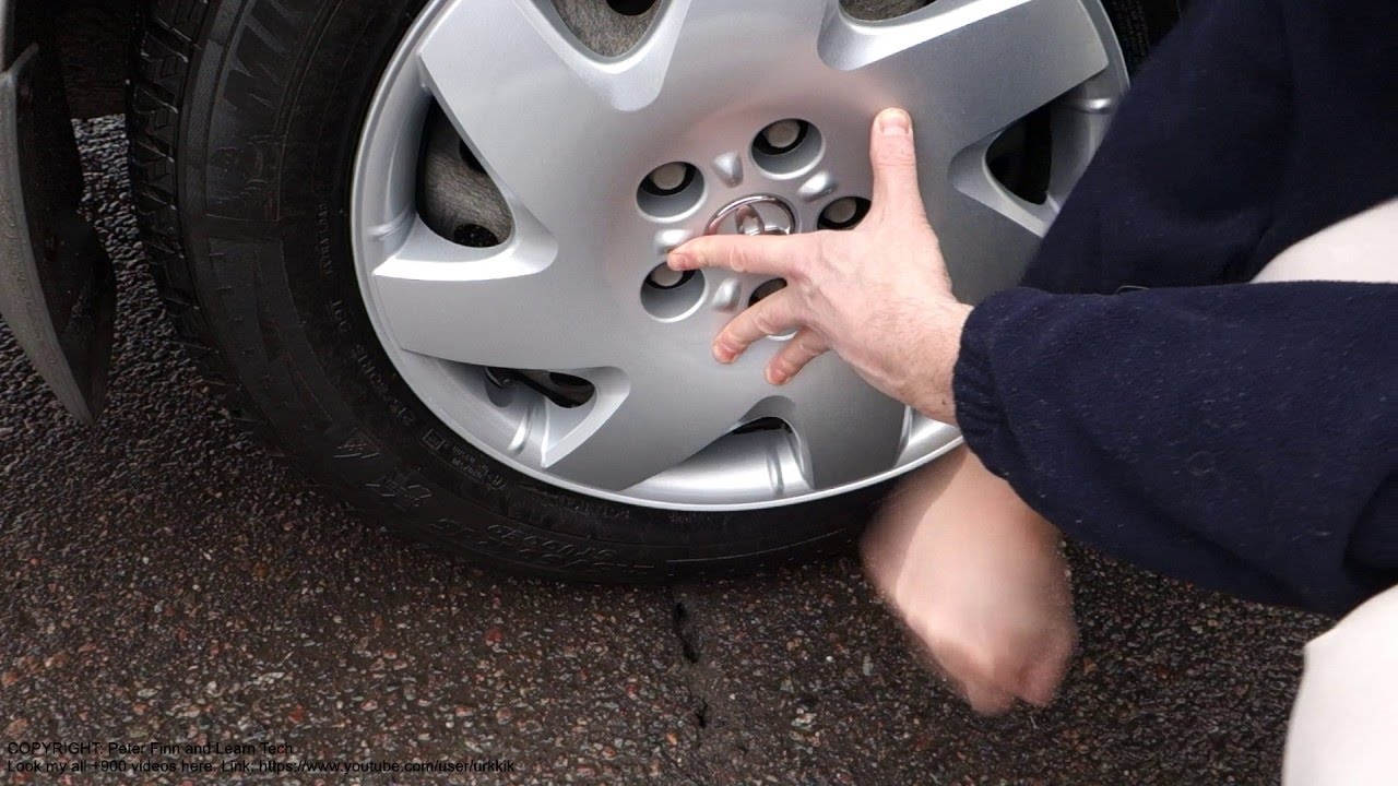 How To Replace New Wheel Cover Toyota Camry Years 2002 To 2010