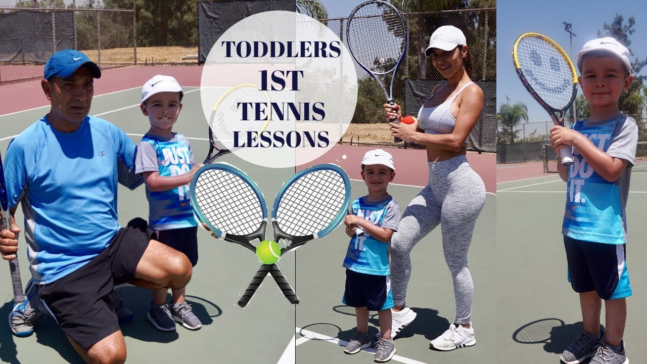 Tennis For Toddlers A Day In The Life Of A Single Mom Toddlers 1st Tennis Lesson 3 Years Old