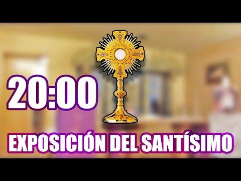 EXPOSICIÓN DEL SANTÍSIMO, DOMINGO V (CUARESMA) 20:00h
