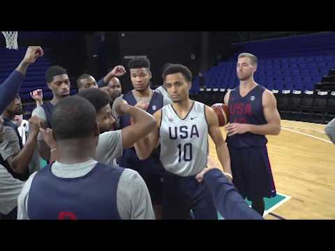 Inside USA Basketball Training Camp for FIBA World Cup Qualifiers